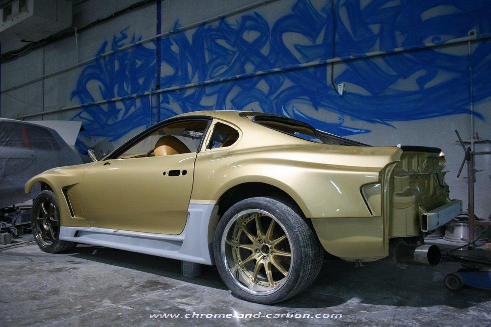 Toyota Supra By Our Dubai Dealer Chrome U0026 Carbon Image Gallery