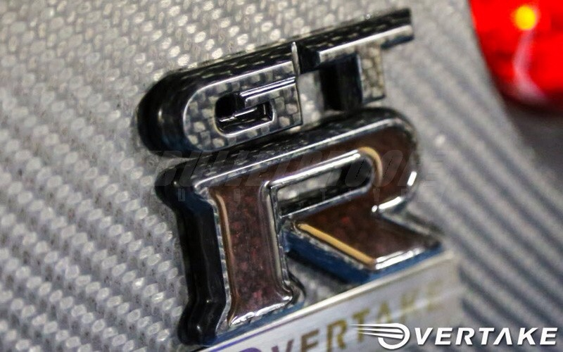 Overtake Solid Carbon Gt R R35 Emblem Images