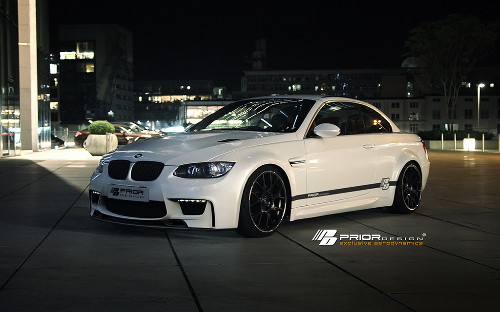 bmw 3 series e92 prior design pd m1 widebody aerodynamic. Black Bedroom Furniture Sets. Home Design Ideas